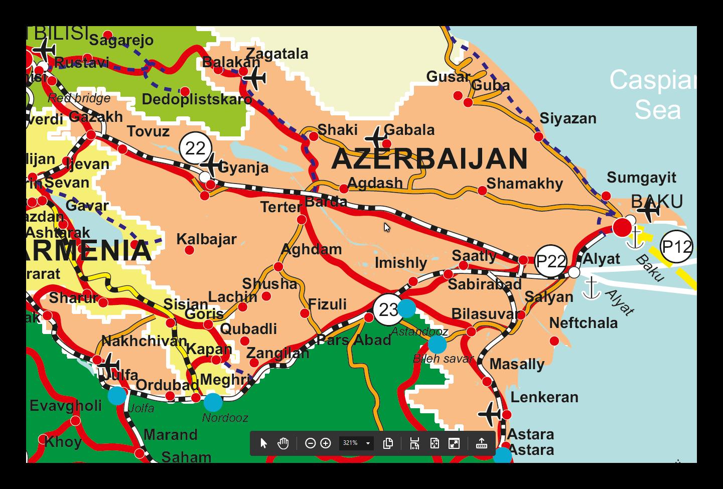 Azerbaijan in TRACECA TRACECA ORG